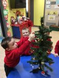 Christmas has arrived at Nursery - December 2019